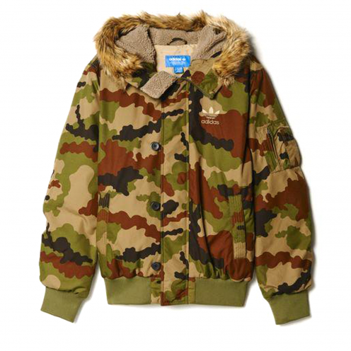 adidas Originals Bunda Camouflage Bomber