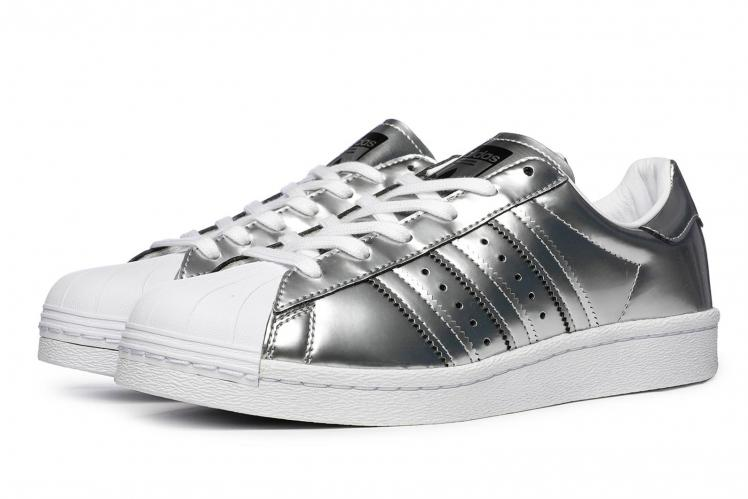 adidas Originals Tenisky Superstar Boost Silver