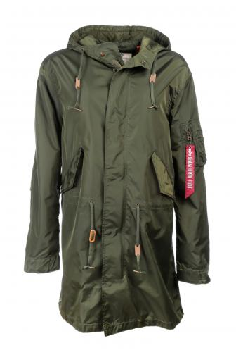 Alpha Industries Hooded Fishtail TT Parka