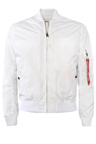 Alpha Industries MA-1 TT Bílá Bomber Bunda