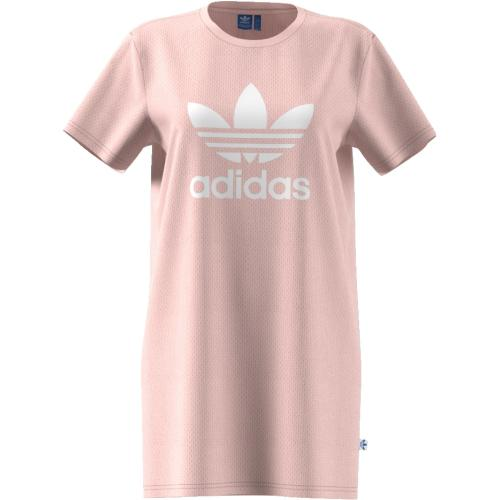 adidas Originals Šaty Trefoil Tee Dress Icey Pink