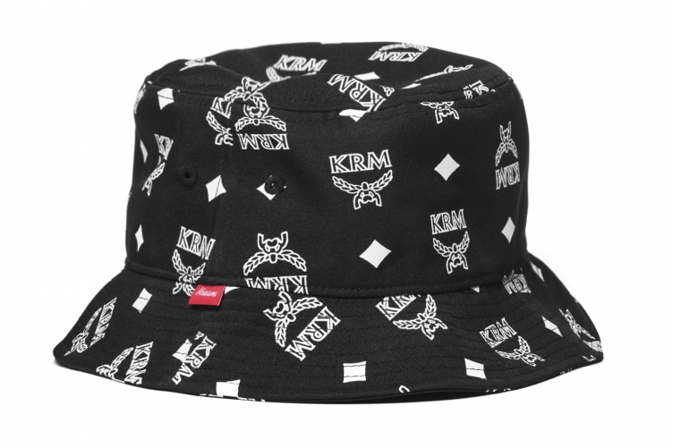 Kream KRM Black Bucket Hat Klobouk