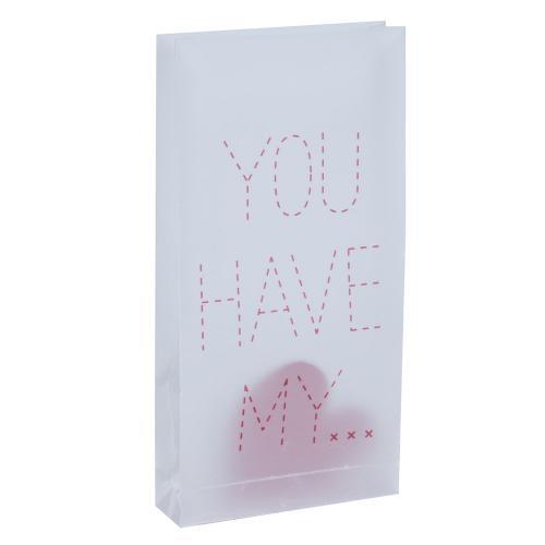 MY HEART Papírová dárková taška