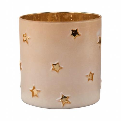 DELIGHT Svícen votivní hvězdy 15 cm