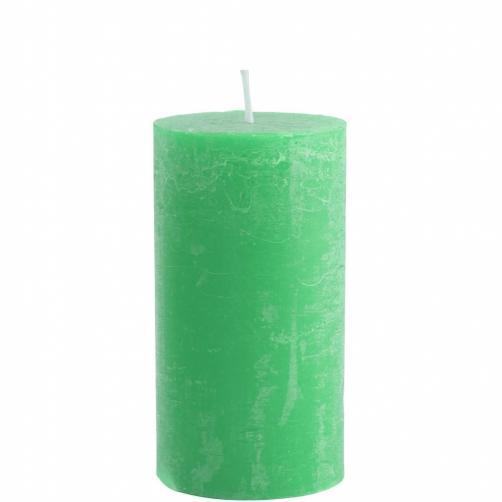 RUSTIC Svíčka 7x13cm - zelená