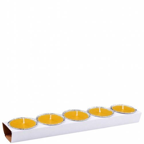 MINI CUP Svíčky s citronelou, 5 ks