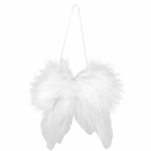 HANG ON Andělská křidla z peří, 7 cm