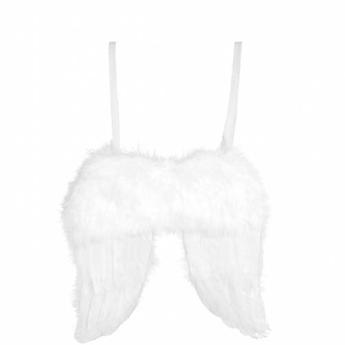 HANG ON Andělská křidla z peří, 27 cm
