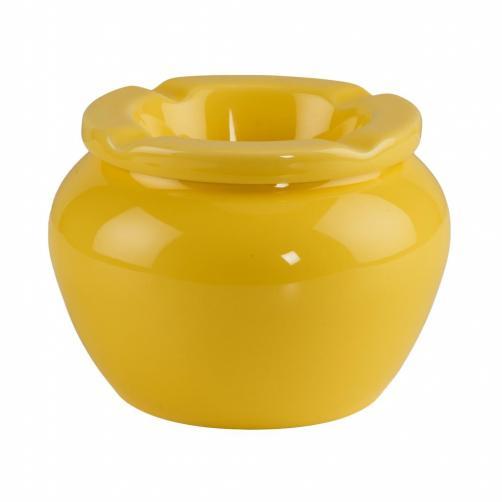 DUSTY Popelník 12,5 cm - žlutá