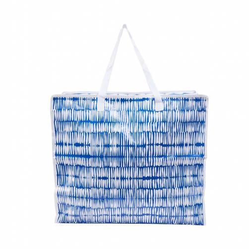 BAG ATTACK Taška JUMBO - modrá/bílá