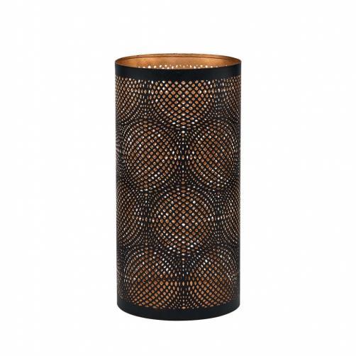 LUMINOUS Svícen s kroužky, 25 cm