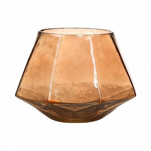 DELIGHT Svícen na čajovou svíčku 12 cm - zlatá