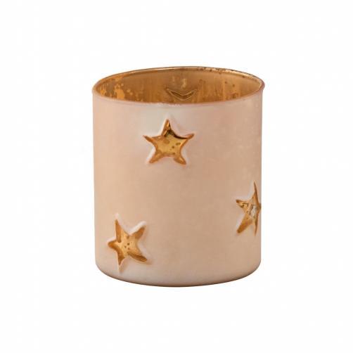 DELIGHT Svícen votivní hvězdy 8 cm