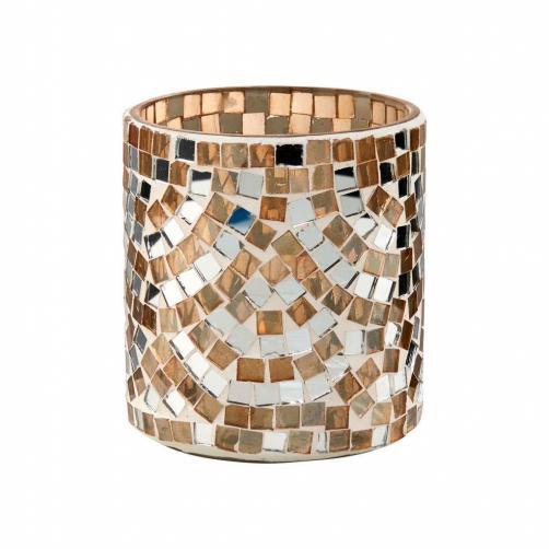 VOTIVE Svícen na čajové svíčky mozaika 9 cm