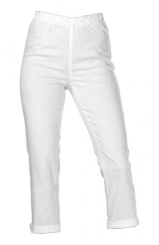 Kalhoty capri / bílá