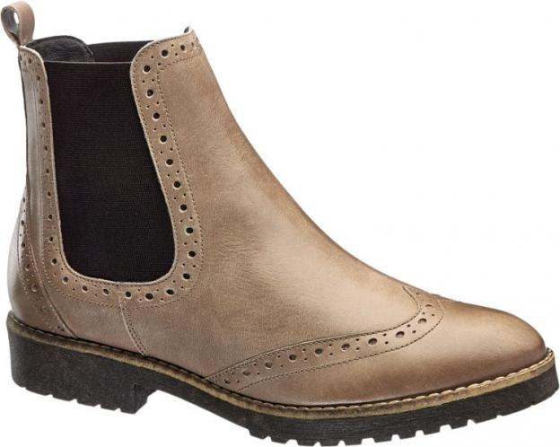 5th Avenue - Kožená obuv Chelsea