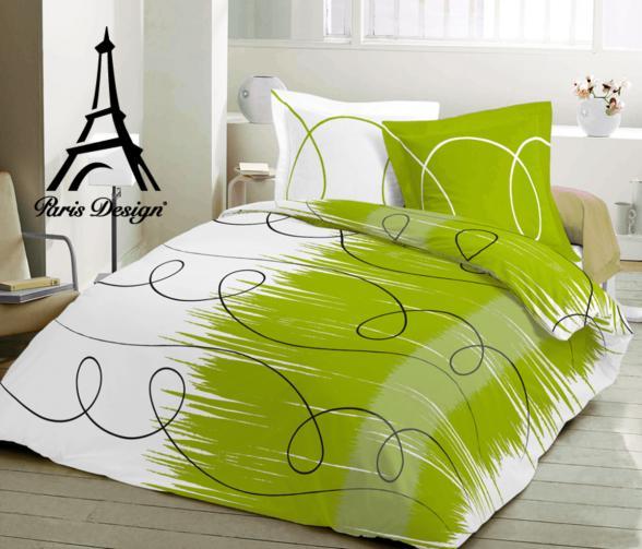 Forbyt Povlečení - ROLLS zelená - bavlna exklusiv 140 x 220 cm + 70 x 90 cm
