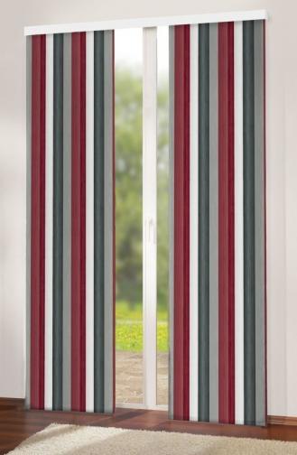Forbyt, Závěs dekorační, Oxy Duha 150 cm, červenošedá