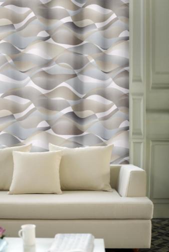 Forbyt, Závěs dekorační, OXY Hawaii 1, béžovo-šedý, 150 cm
