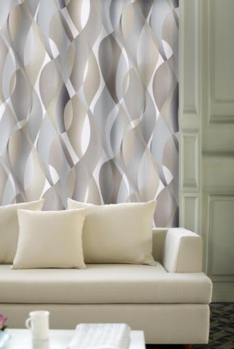 Forbyt, Závěs dekorační, OXY Hawaii 2, béžovo-šedý, 150 cm
