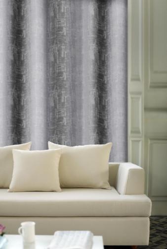 Forbyt, Závěs dekorační, OXY Impresse 150 cm, šedý