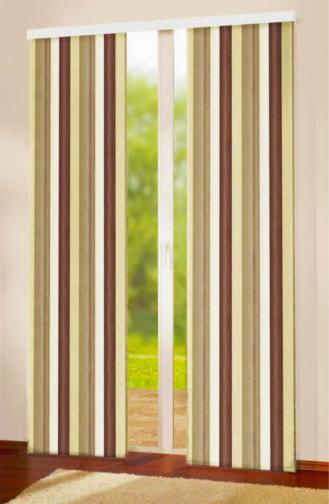 Forbyt, Závěs dekorační, Oxy Duha 150 cm, béžovohnědá