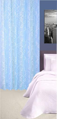 Forbyt, Závěs dekorační nebo látka, Tonia, světle modrá, 145 cm
