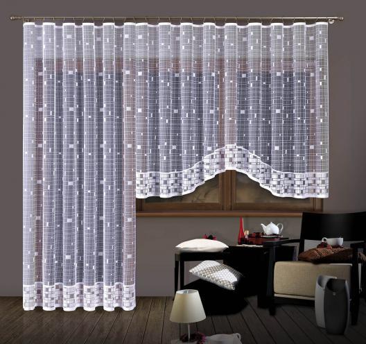 Forbyt, Hotová záclona nebo Balkonový komplet, Valeria 300 x 150 cm