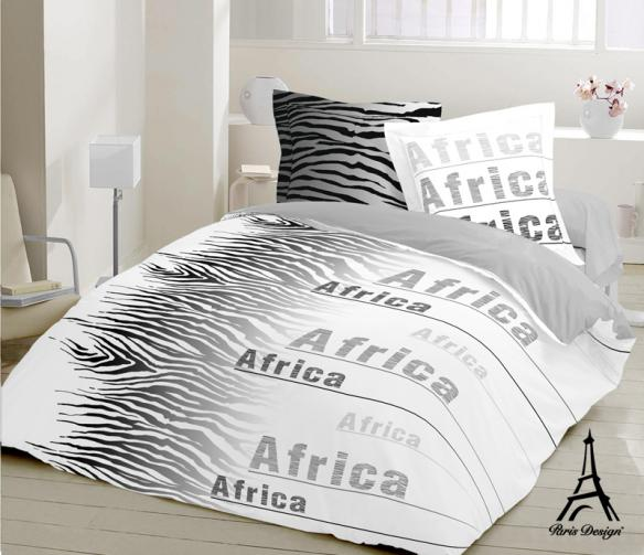 Paris design Povlečení bavlna exklusive Africa 140 x 200 cm + 70 x 90 cm