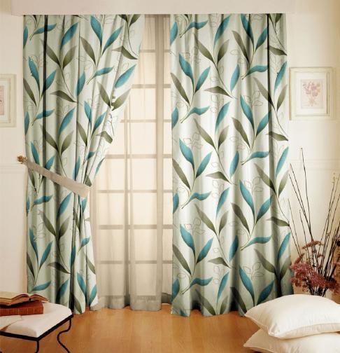 Forbyt, Závěs dekorační, OXY Amazonie béžovomodrá, 150 cm