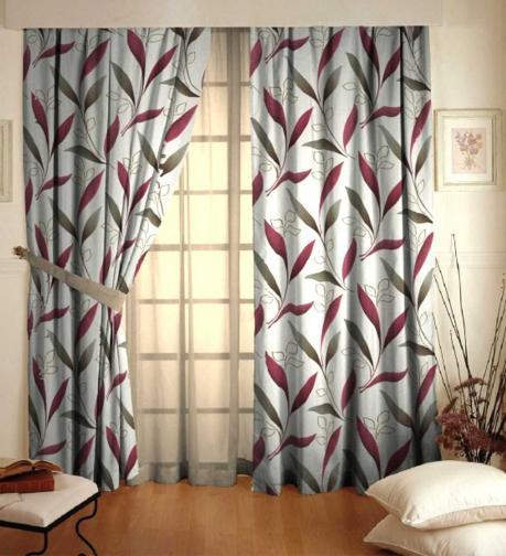 Forbyt, Závěs dekorační, OXY Amazonie, béžovobordová 150 cm