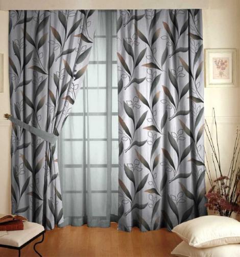 Forbyt, Závěs dekorační, OXY Amazonie šedobéžová, 150 cm