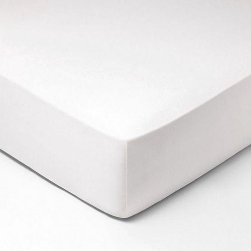 Forbyt, Prostěradlo, Jersey, bílá 70 x 140 cm