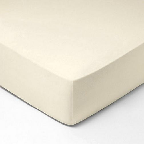 Forbyt, Prostěradlo, Jersey, krémová 70 x 140 cm