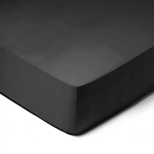 Forbyt, Prostěradlo, Jersey, černá 70 x 140 cm