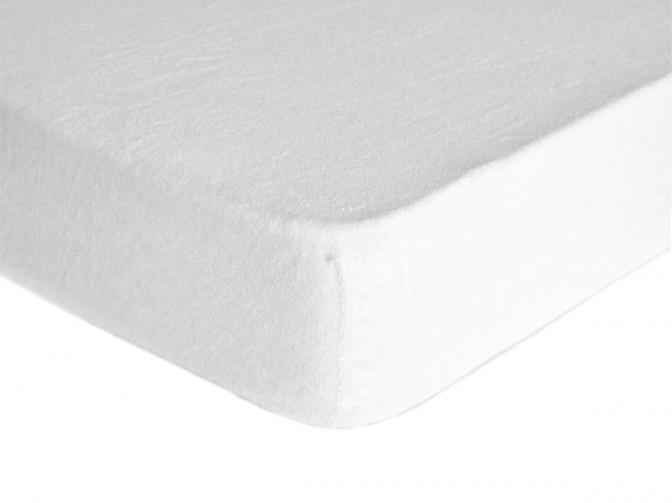 Forbyt, Prostěradlo, Froté Premium, bílé 70 x 140 cm
