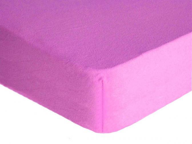 Forbyt, Prostěradlo, Froté Premium, fialové 70 x 140 cm