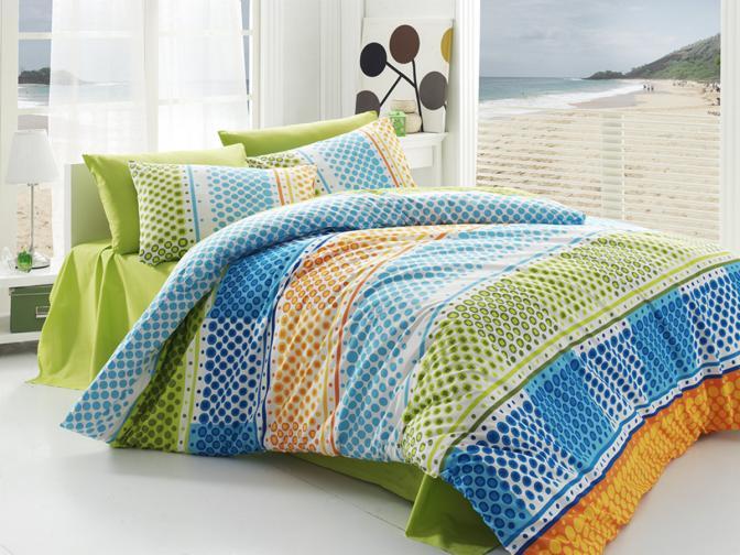 Forbyt Povlečení - Fashion zelené -  bavlna exkluziv 200x140, 90x70
