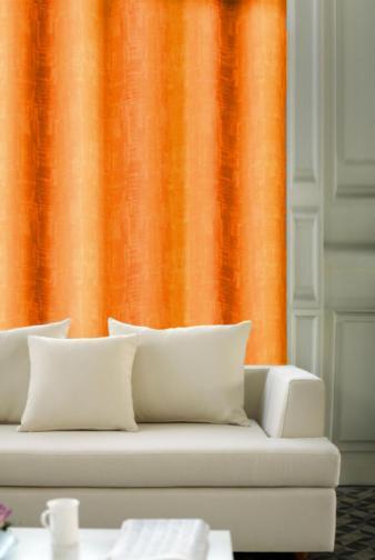 Forbyt, Závěs dekorační, OXY Impresse 150 cm, oranžový