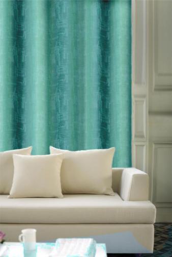 Forbyt, Závěs dekorační nebo látka, OXY Impresse 150 cm, tyrkysový