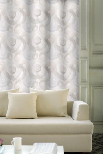 Forbyt, Závěs dekorační, OXY Kola, bílo-hnědé, 150 cm