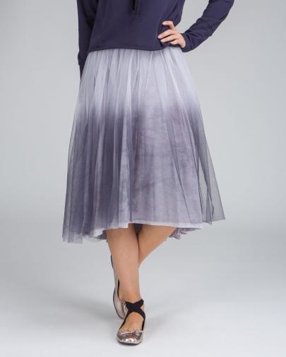 Deha šedá tylová sukně
