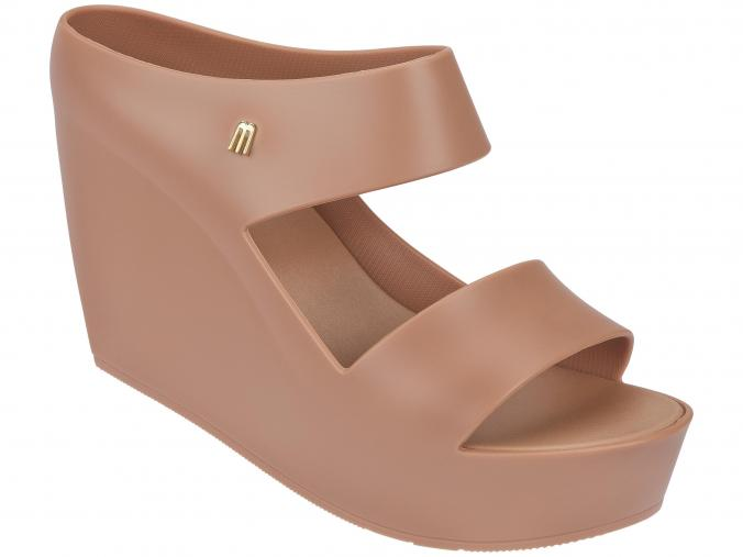Melissa hnědé boty Creatives Wedge Brown