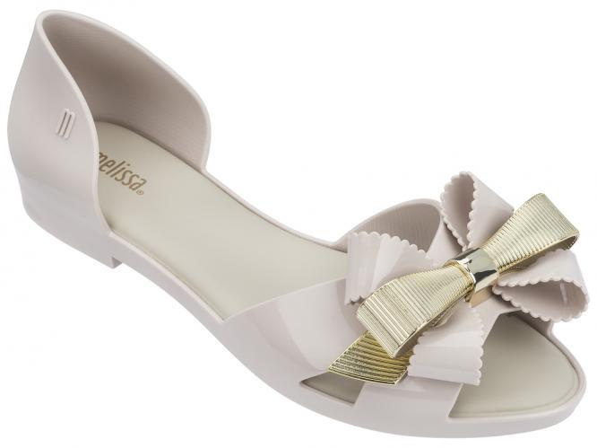 Melissa smetanové sandály Seduction III Beige/Gold