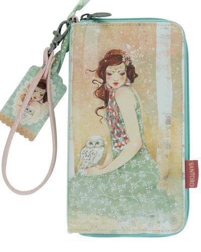 Santoro peněženka Willow Mademoiselle Snow