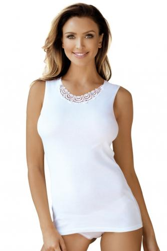 Bílá spodní košilka Nicola S
