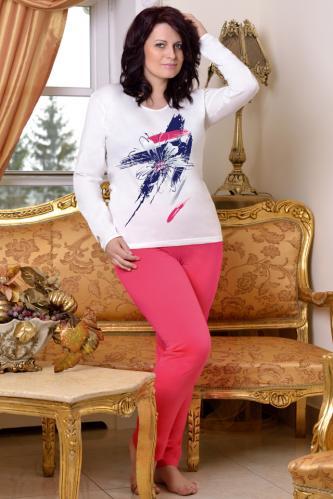 Bavlněné dámské pyžamo Silva XXL