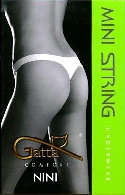 Kalhotky Mini String Nini  Gatta S bílá