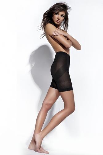 Stahovací kalhotky Fit Body black S černá