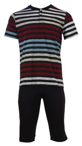 Pánské pyžamo 93131 Hallmark M černá